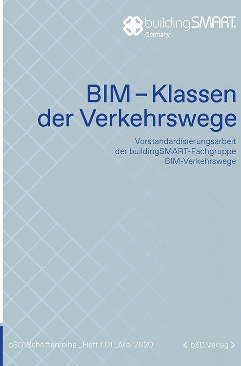 Cover BIM-Klassen der Verkehrswege