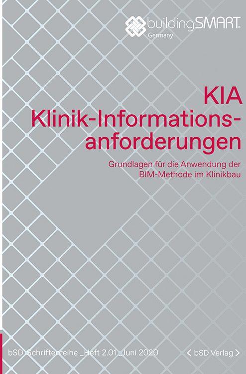 Cover KIA Klinik-Informationsanforderungen