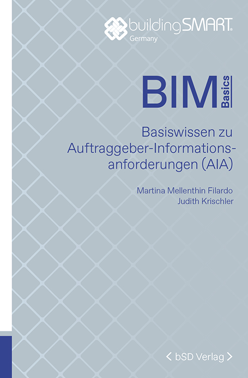 Cover BIM Basiswissen zu Auftraggeber-Informationsanforderungen