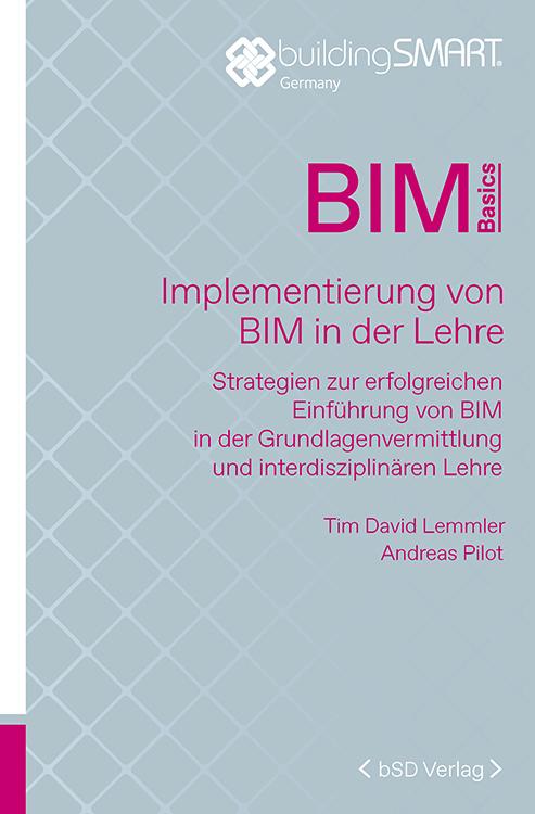 Cover BIM Implementierung von BIM in der Lehre