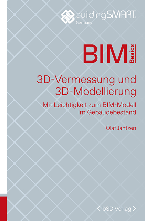 Cover BIM 3D-Vermessung und 3D-Modellierung